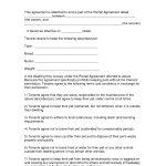 Free Easy Lease Agreement To Print   Free Printable Lease Agreement   Free Printable Lease Agreement Texas
