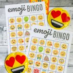 Free Emoji Bingo Printable   Create Craft Love   Free Emoji Bingo Printable
