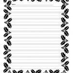 Free Free Printable Border Designs For Paper Black And White   Writing Borders Free Printable