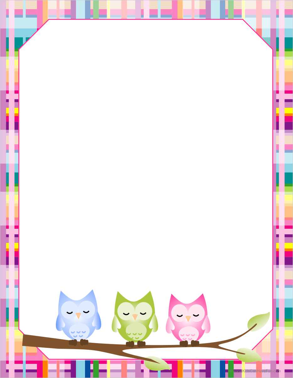 Free Free Printable Border Designs For Paper, Download Free Clip Art - Writing Borders Free Printable