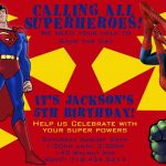 Free Free Printable Superhero Birthday Invitations | Bagvania   Free Printable Superman Invitations
