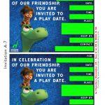 Free Good Dinosaur Birthday Party & Playdate Invitation Templates   Play Date Invitations Free Printable
