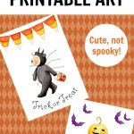 Free Halloween Printables That Are Cute, Not Scary!   Free - Free Printable Halloween Decorations Scary
