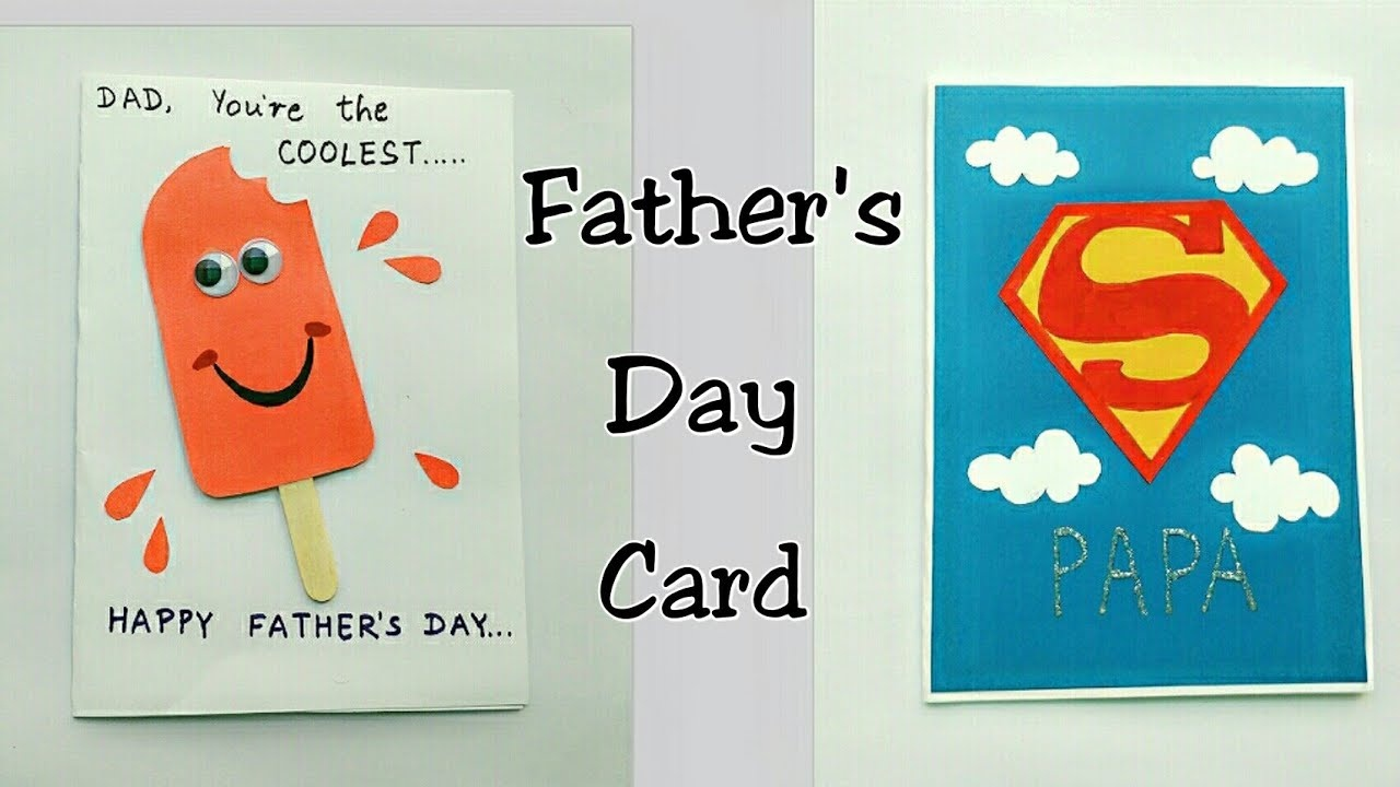 Free* Happy Fathers Day Cards Printable, Ideas For Facebook - Free Printable Fathers Day Cards For Preschoolers
