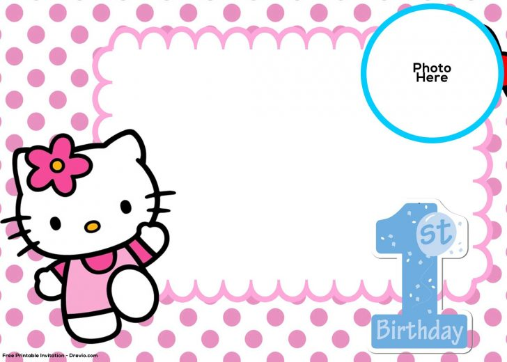 Free Printable Hello Kitty Baby Shower Invitations