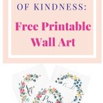 Free Inspirational Printable Wall Art | Edifying Blog Posts   Free Printable Christian Art