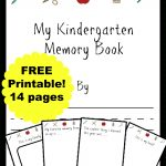 Free Kindergarten Memory Book (Homeschool Edition | Best Of Mrs   Free Printable Preschool Memory Book