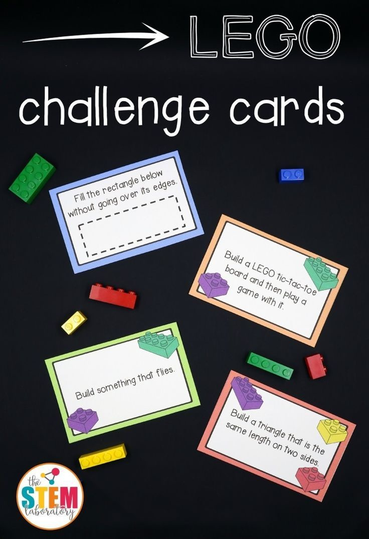 Free Lego Challenge Printable Stem Activities | Learning & Education - Free Printable Stem Activities