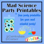 Free Mad Scientist Party Printables From Www   Scan To Enter Sign Printable Free