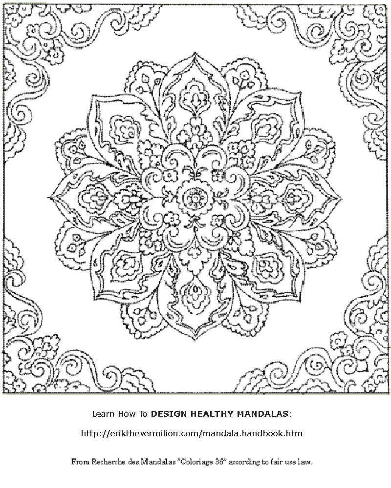 Free Mandalas To Print | Free Mandala Coloring Book Printable Pages - Free Printable Mandala Patterns
