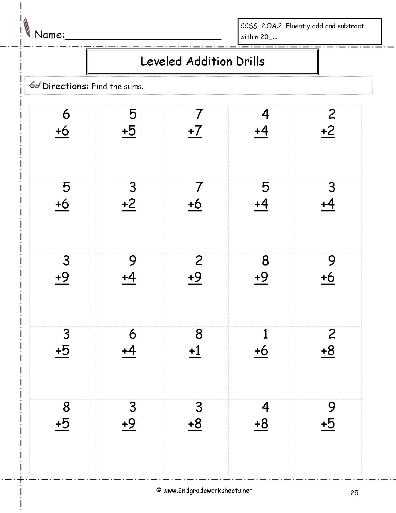 Free Math Worksheets And Printouts - Free Printable Subtraction Worksheets