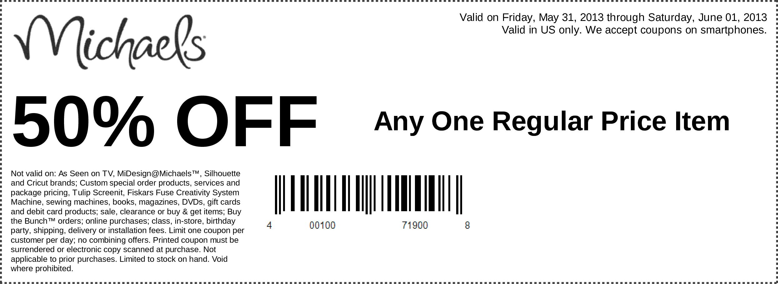 Free-Michaels-Printable-Coupons-2017 – Printable Coupons Online - Free Printable Coupons 2017