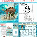 Free Moana Printables   Coloring Pages, Party Printables, And More   Free Printable Moana Banner