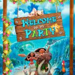 Free Moana   Welcome To My Party Banner. | Ava's 2Nd Party In 2019   Free Printable Moana Banner