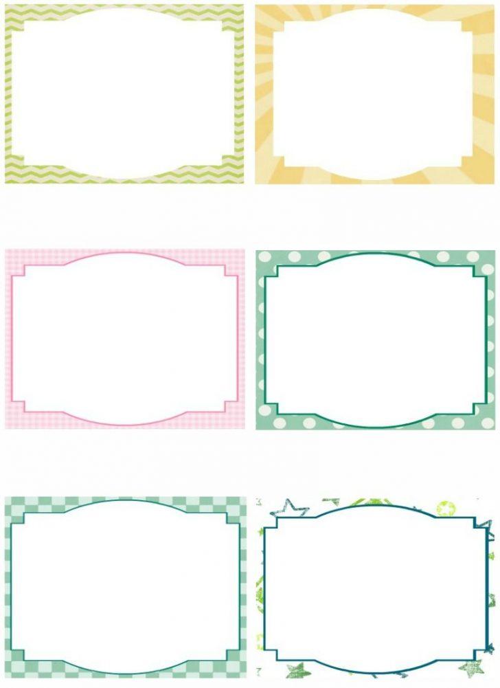 Free Printable Blank Index Cards