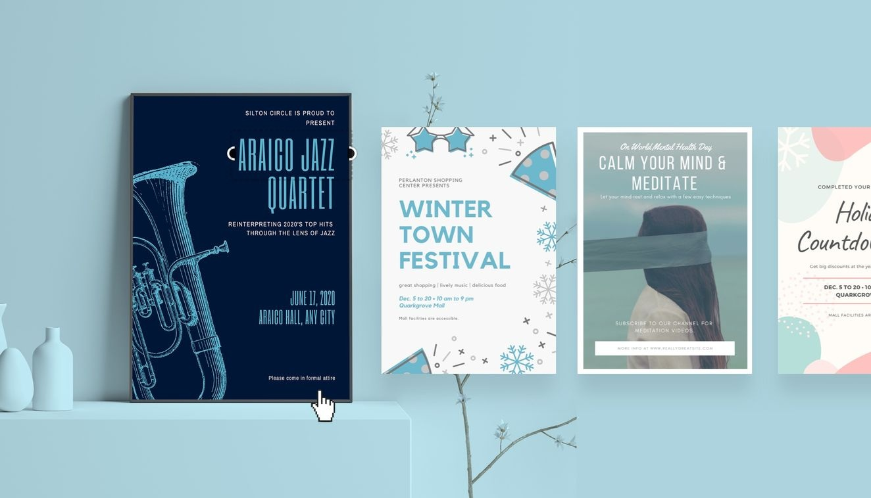 Free Online Poster Maker: Design Stunning Posters In Canva - Free Printable Poster Maker