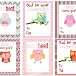 Free Owl Printables | Free Printable Valentine's Day Cards For Kids – Free Printable Valentines Day Cards