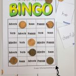 Free Parts Of Speech Game   Education   Parts Of Speech Games, Parts   Free Printable Parts Of Speech Bingo