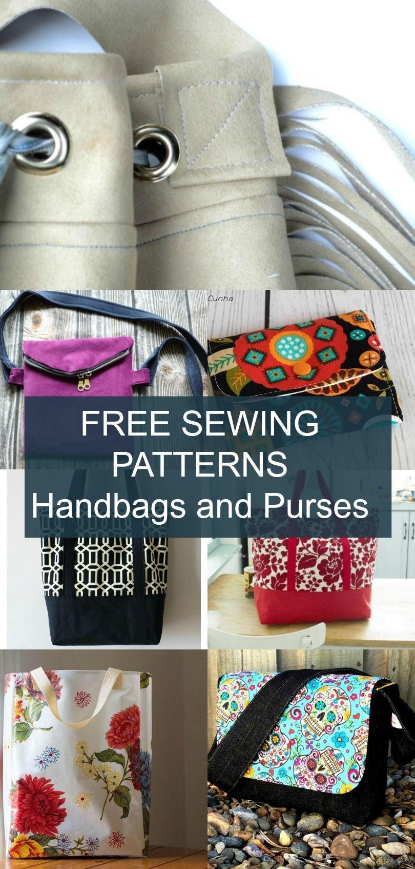 Free Pattern Alert 20 Handbags And Purses - On The Cutting Floor - Handbag Patterns Free Printable