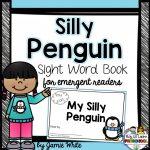 Free Penguin Emergent Reader Book   Free Printable Reading Books For Preschool