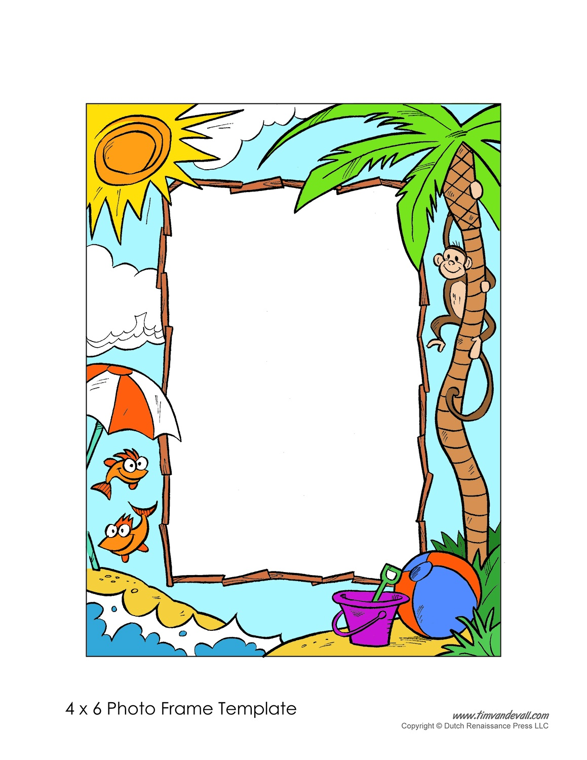 Free Photo Frame Templates - Make Your Own Photo Frame - Free Printable Photo Frames