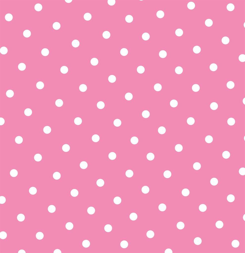 Free Pink Polka Dot Printable Page Or Digital Background. | Dsn - Free Printable Pink Polka Dot Paper
