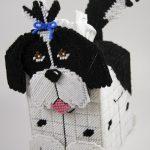 Free Plastic Canvas Tissue Box Patterns | Plastic Canvas Shih Tzu   Free Printable Plastic Canvas Tissue Box Patterns