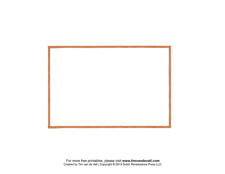 Free Postcard Templates | Blank Printable Postcards - Free Blank Printable Postcards