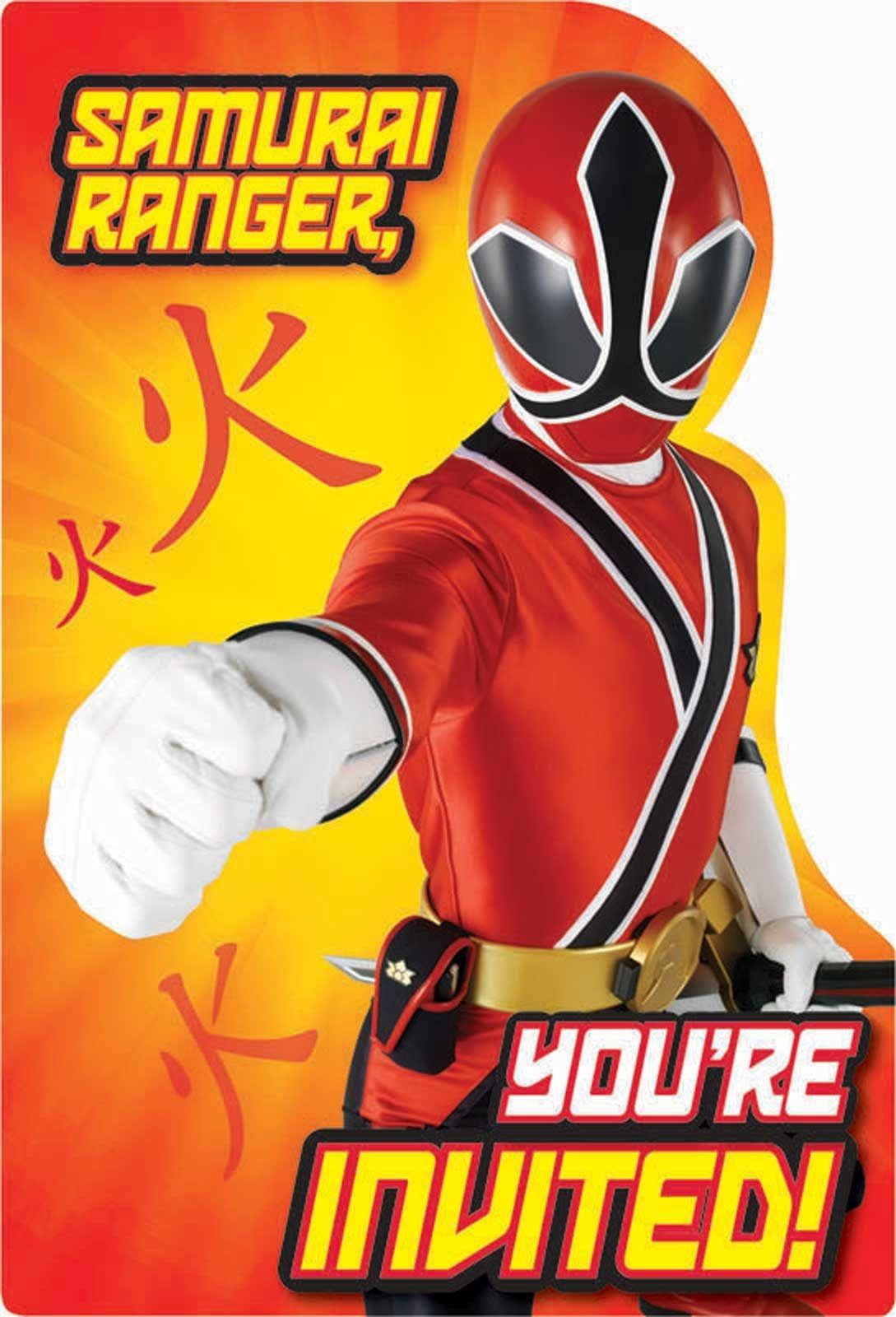 Free Power Ranger Birthday Invitations | Bagvania Invitation In 2019 - Free Printable Power Ranger Birthday Invitations