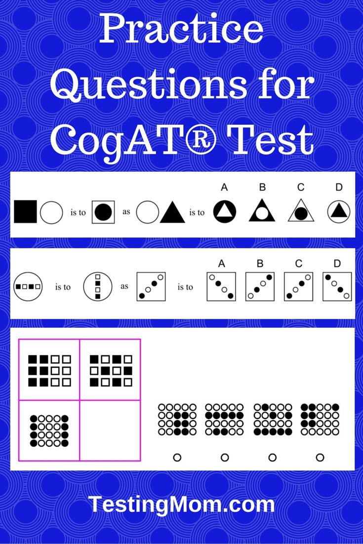 Free Practice Questions For Cogat® Test. Can Your Child Answer These - Free Printable Itbs Practice Worksheets