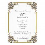 Free Printable 60Th Birthday Party Invitations — Birthday Invitation   Free Printable Surprise 60Th Birthday Invitations