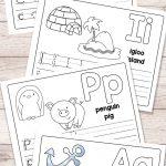 Free Printable Alphabet Book   Alphabet Worksheets For Pre K And K   Free Printable Reading Books For Preschool