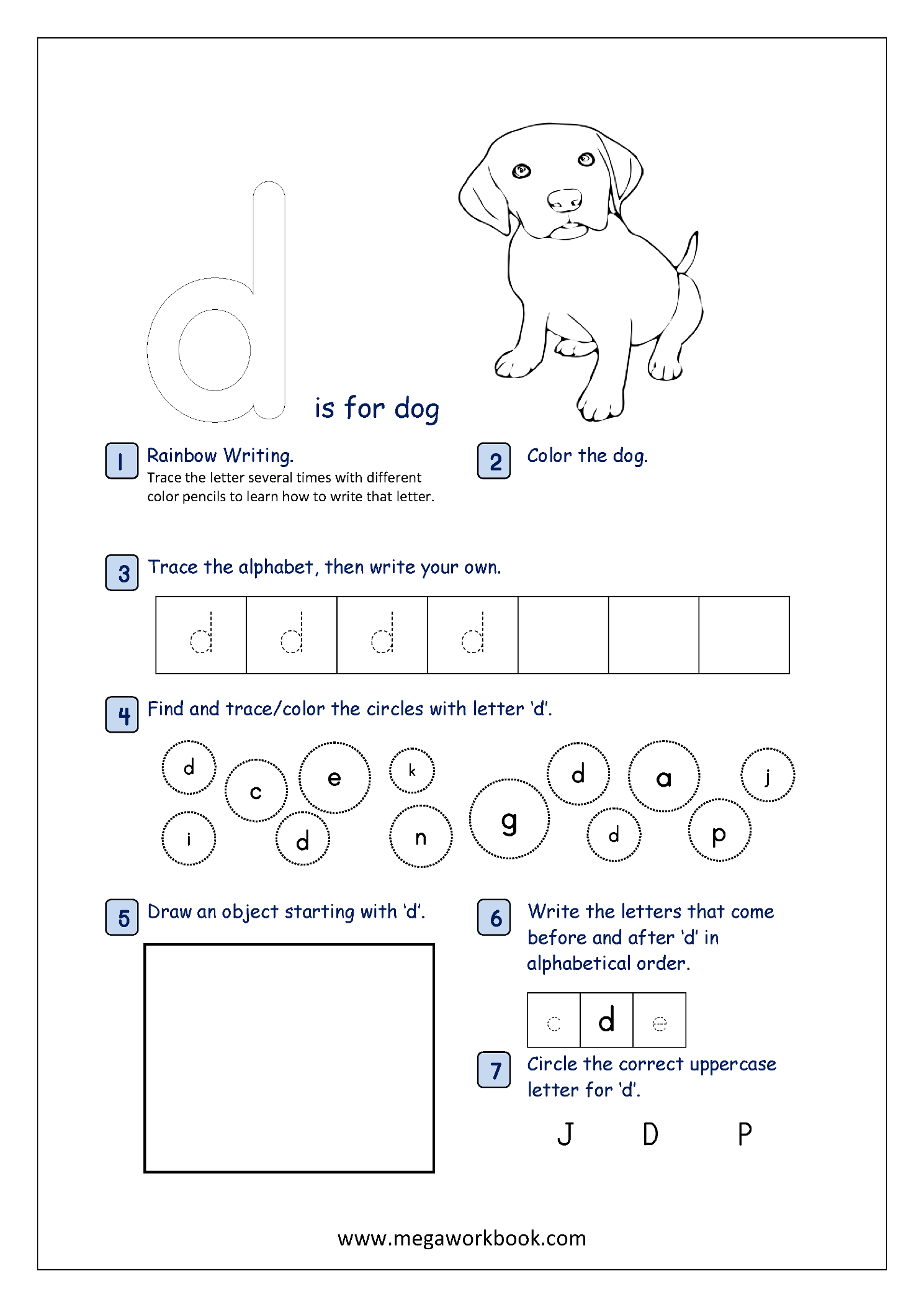 Free Printable Alphabet Recognition Worksheets For Small Letters - Free Printable Letter Recognition Worksheets