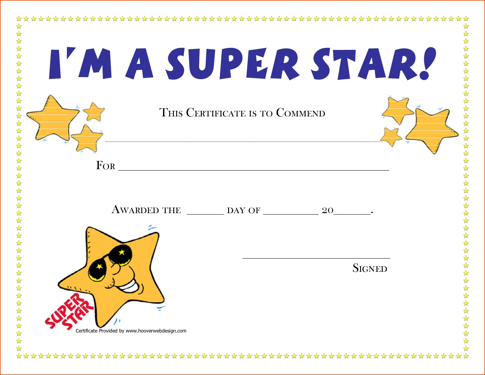 Free Printable Award Certificates | New Calendar Template Site | G - Free Printable Certificates And Awards