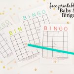 Free Printable Baby Shower Bingo Cards – Project Nursery – Printable Baby Shower Bingo Games Free
