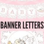 Free Printable Baby Shower Decorations Banner Letters | Babyshowers   Free Printable Baby Shower Banner Letters