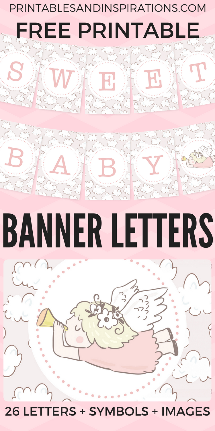 Free Printable Baby Shower Decorations Banner Letters | Babyshowers - Free Printable Baby Shower Banner Letters