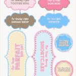 Free Printable Baby Shower Favor Tags Template Brochure Templates   Free Printable Baby Shower Gift Tags