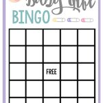 Free Printable Baby Shower Games For Large Groups – Fun Squared   Printable Baby Shower Bingo Games Free
