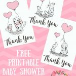 Free Printable Baby Shower Thank You Gift Tags | Planners   Free Printable Baby Shower Gift Tags