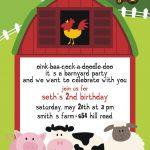 Free Printable Barnyard Farm Invitation Template. Like This Item   Free Printable Cow Birthday Invitations