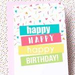 Free Printable Birthday Cards | Skip To My Lou   Free Printable Bday Cards