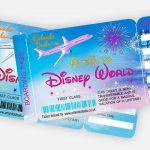 Free Printable Boarding Pass Tickets   Orlando Deals | Orlando   Free Printable Boarding Pass