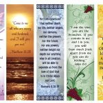 Free Printable Bookmarks With Bible Verses | Bookmarks | Free   Free Printable Religious Easter Bookmarks