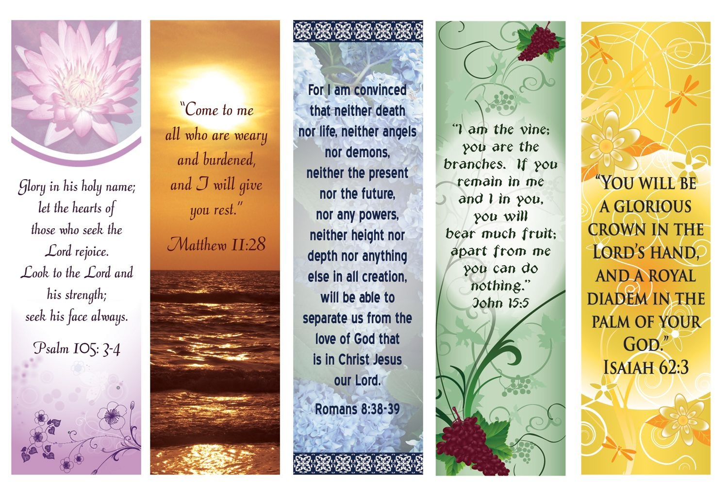 Free Printable Bookmarks With Bible Verses | Bookmarks | Free - Free Printable Religious Easter Bookmarks