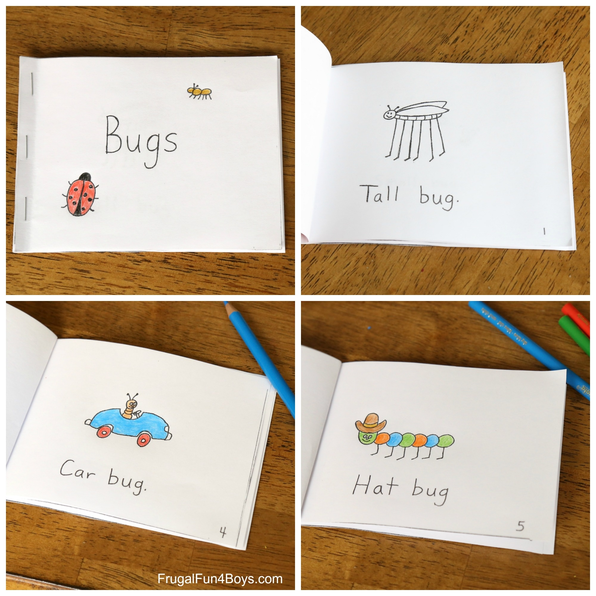 Free Printable Books For Beginning Readers - Level 1 (Easy) - Frugal - Free Printable Level H Books