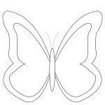 Free Printable Butterfly Colouring Pages | Decor/lighting   Free Printable Butterfly Cutouts