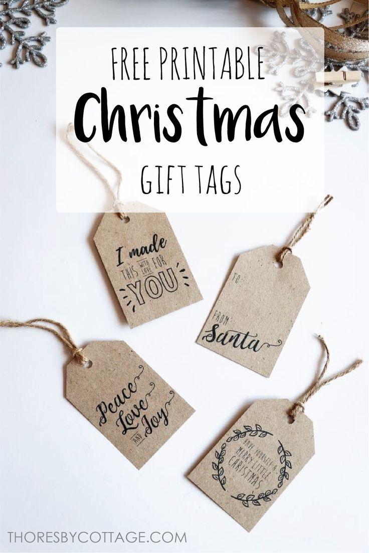 Free Printable Christmas Gift Tags | Free Printables | Free - Diy Gift Tags Free Printable
