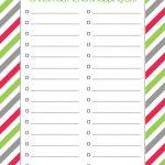 Free Printable Christmas Menu Shopping List | Whatmommydoes On   Christmas Menu Printable Template Free