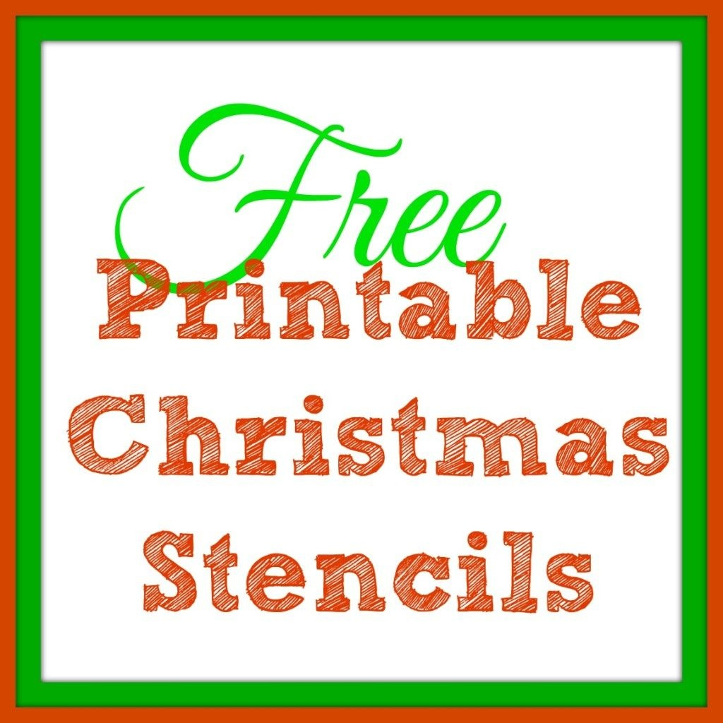Free Printable Christmas Stencils – Christmas Tree Templates & Santa - Free Printable Christmas Ornaments Stencils
